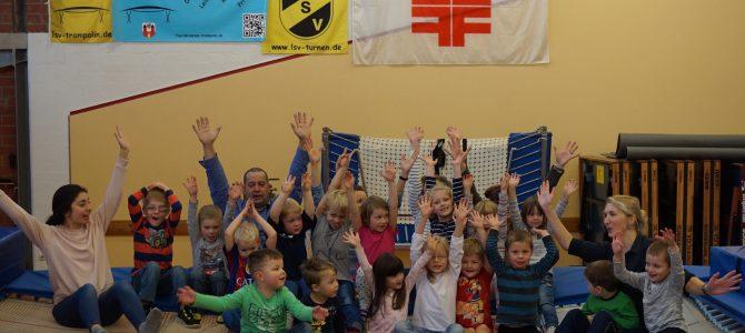 24.November 2016   SCHNUPPERSTUNDE für Kindergarten Krüzen