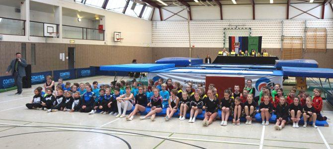 24.Februar 2018 Nachwuchswettkampf Trampolin KIDDY-I in Lauenburg